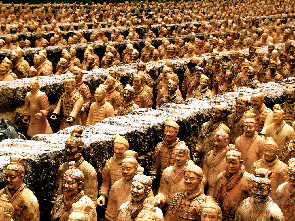 "terracotta army fake paper The fake tourist bus no5 (306) may not only take you to the fake terracotta army, but also some other artificial sites such as ""eight wonders of the."