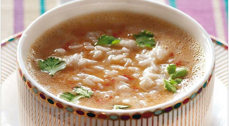 Непальский дал бхат, пряный суп из риса и чечевицы