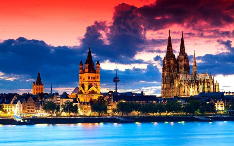 Кёльнский собор в Германии.