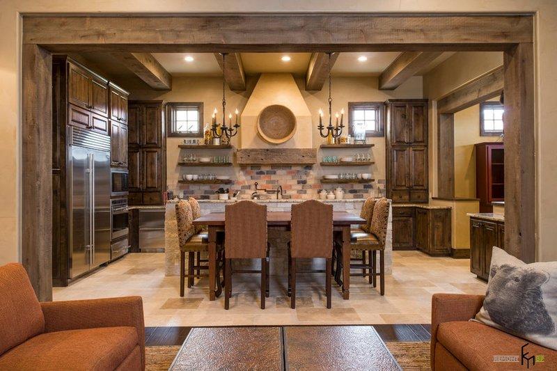 Эксклюзивный дизайн кухонь в деревенском стиле.