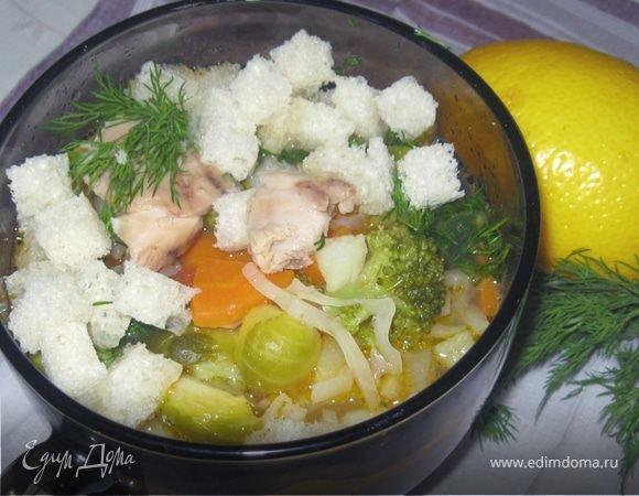 Суп куриный диетический рецепт фото