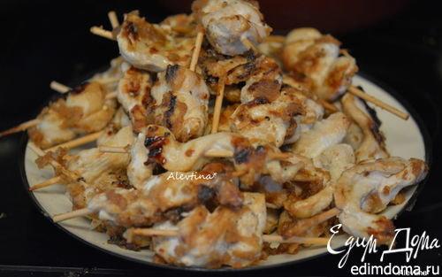 Куриные шашлычки Satay  | Кулинарные рецепты от «Едим дома!»