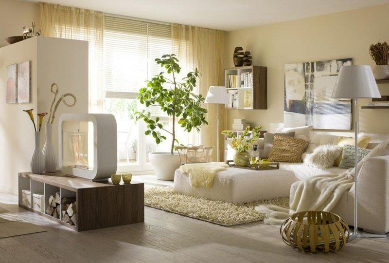 Эко стиль - такой стиль, который выполнен только из натуральных материалов.