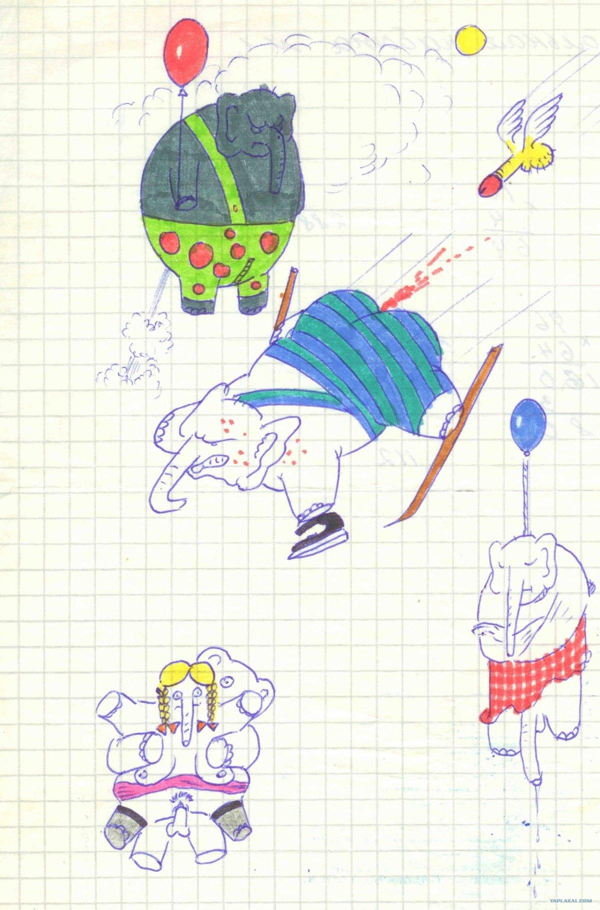 Прикольные рисунки которые можно нарисовать в школе, дня открытки