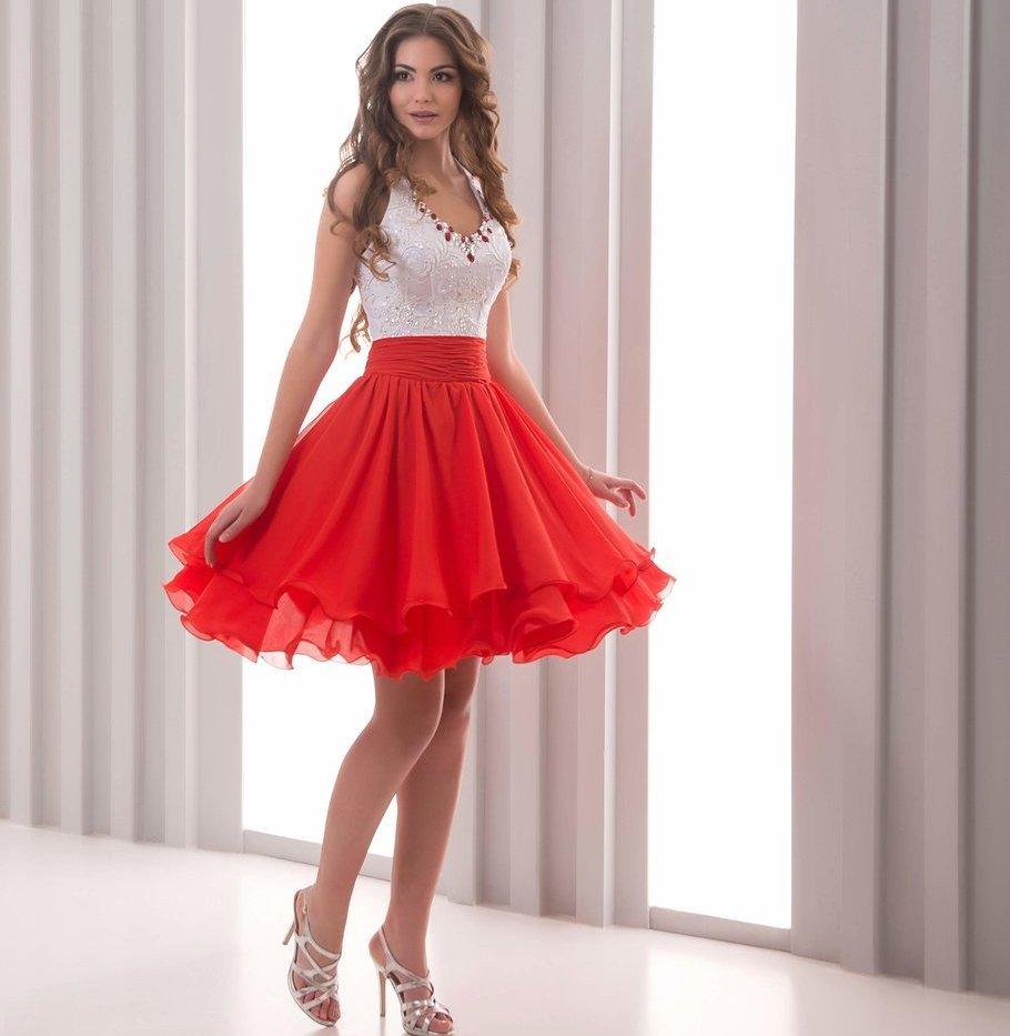 Короткое пышное платье своими руками фото 859