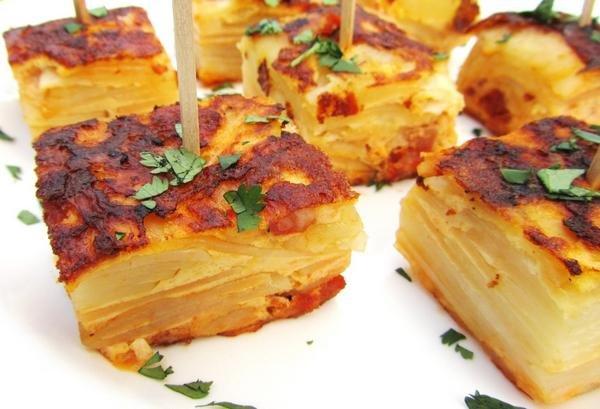 Испанская тортилья рецепт фото