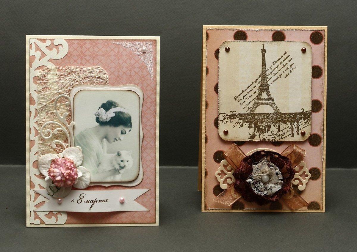 Изготовление сувенирных открыток