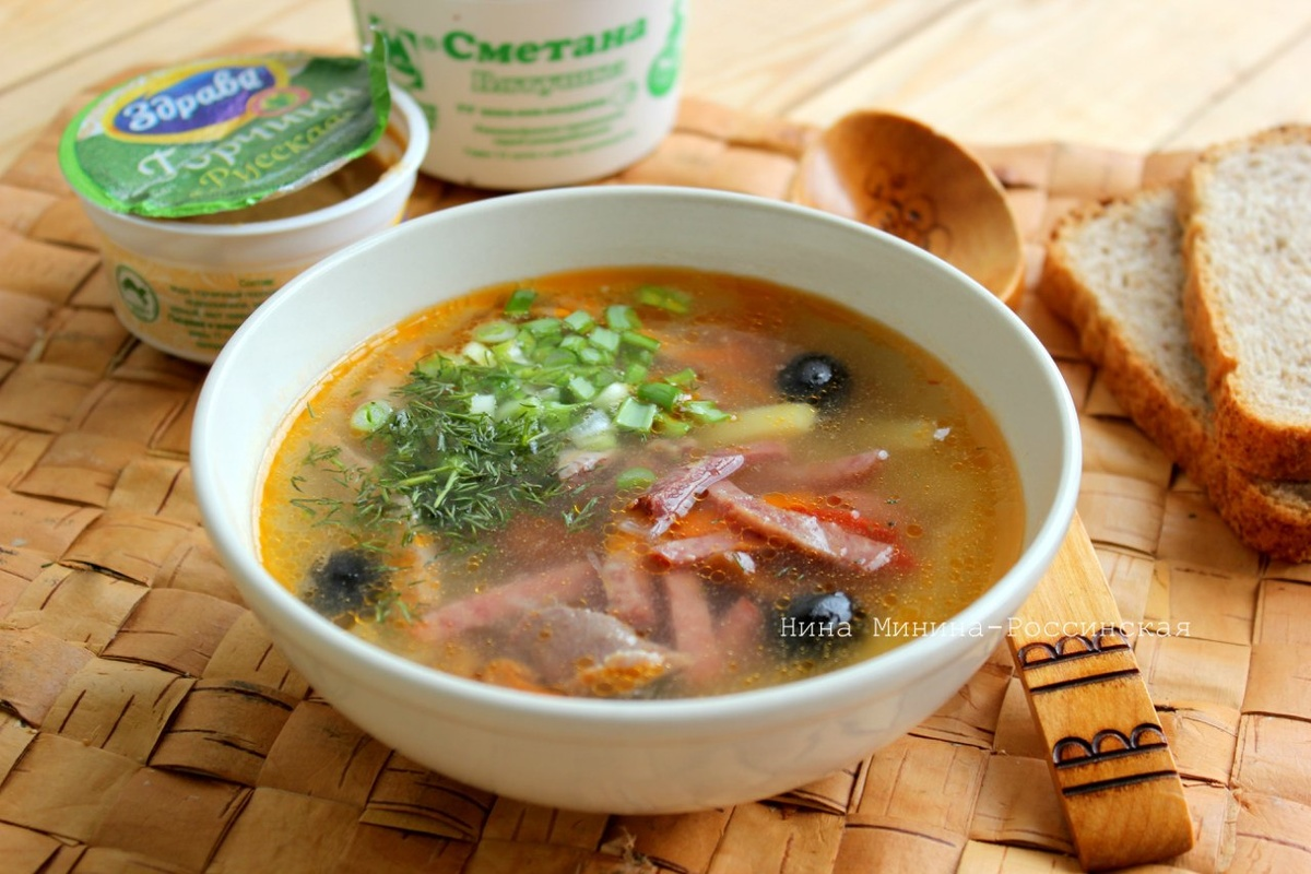 фильмов самая рецепт супа солянка сборная мясная с фото кожу названной области