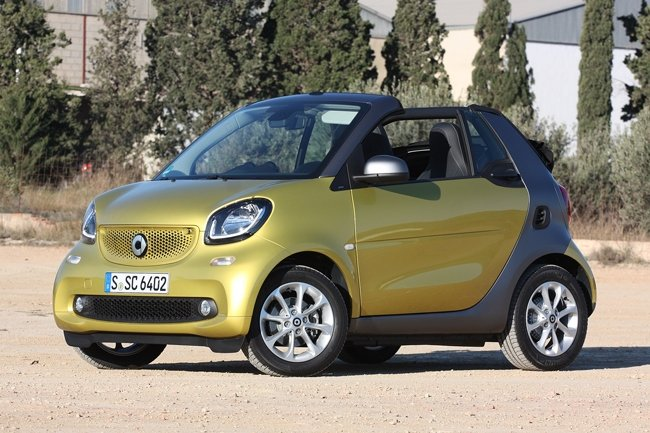 Smart Fortwo Cabriolet 2016 года