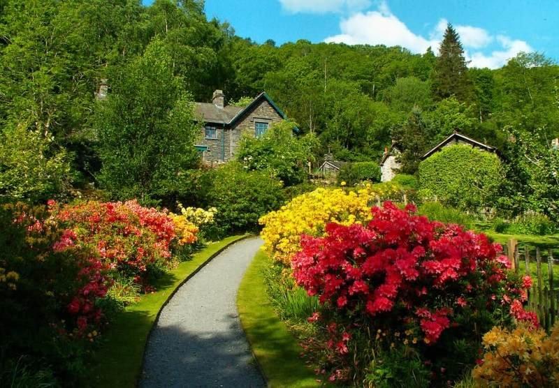 вкусная британские цветущие сады фото через