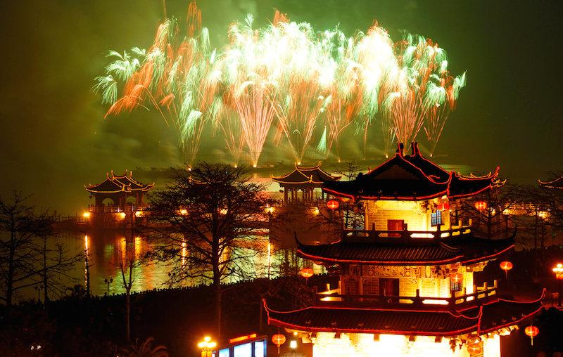 Китайский новый год в картинках