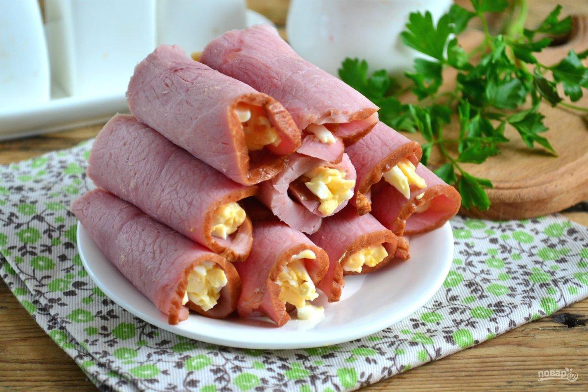 Блюда из вареной колбасы рецепты с фото