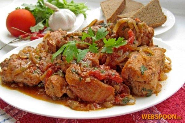 Чахохбили курицы рецепт грузински фото