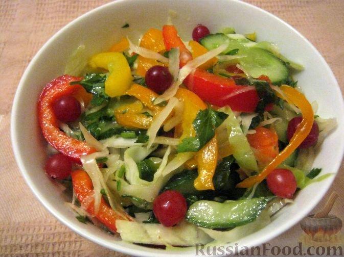 Праздниовощные салаты рецепты с фото