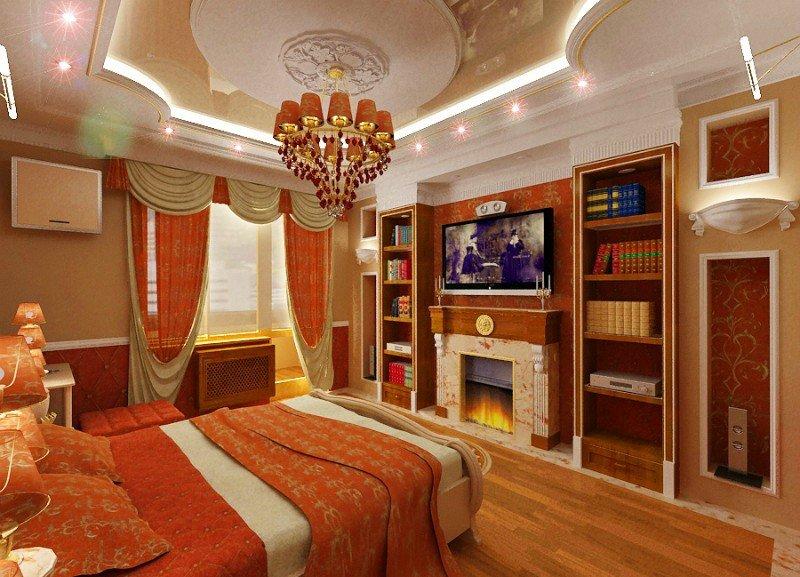 Квартира и частный дом в стиле ампир. Ампир в интерьере гостиной, спальни, кухни, ванной комнаты.
