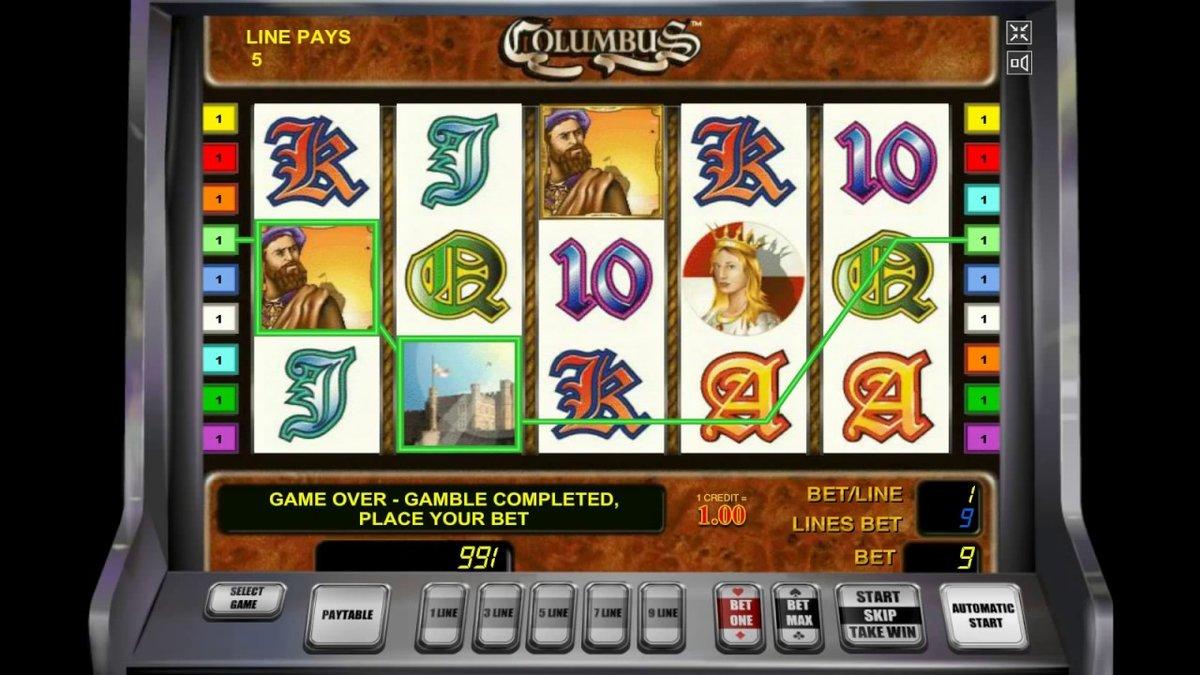 официальный сайт самые играющие слоты в казино колумбус