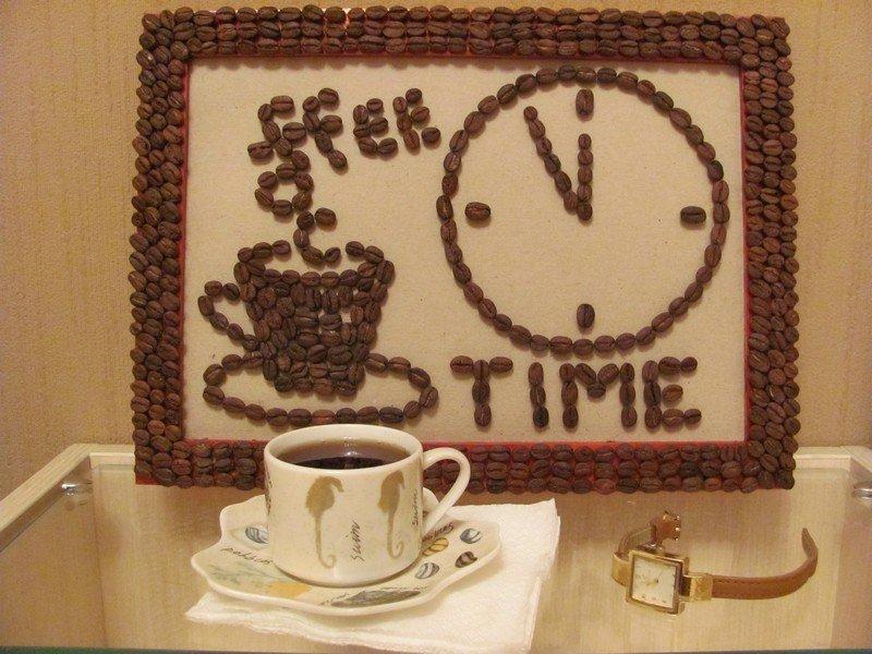 Как сделать картинку из кофе