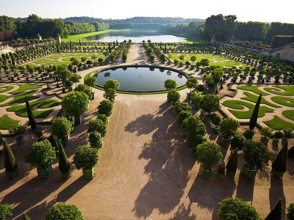 фазе, парки версаля фото любви