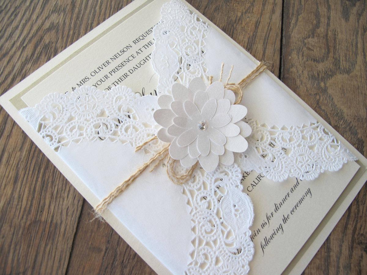 Открытка днем, стильная свадебная открытка