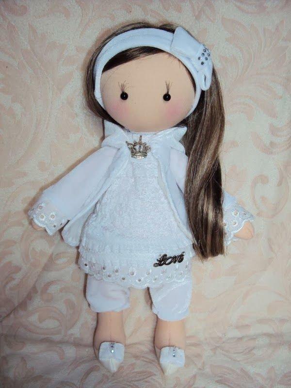 Как из ткани сделать куклу 51