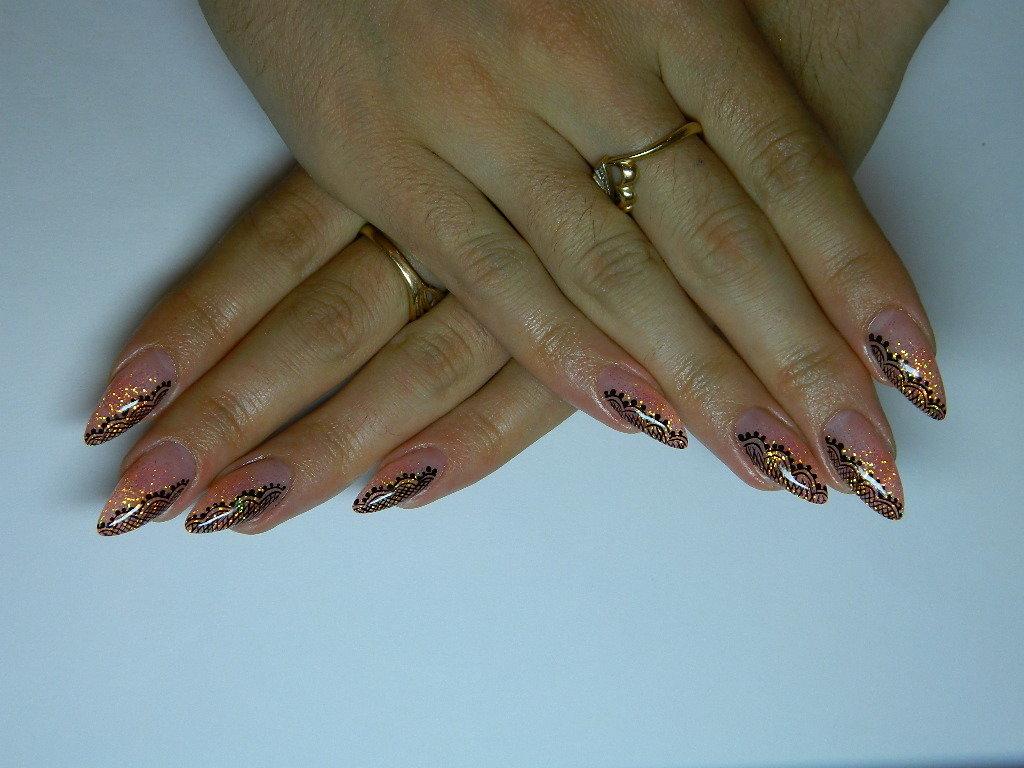 Наращивание ногтей гелевые картинки