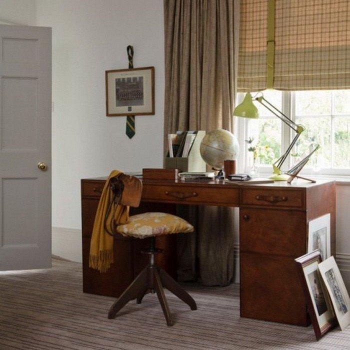 шторы для кабинета как основной декор