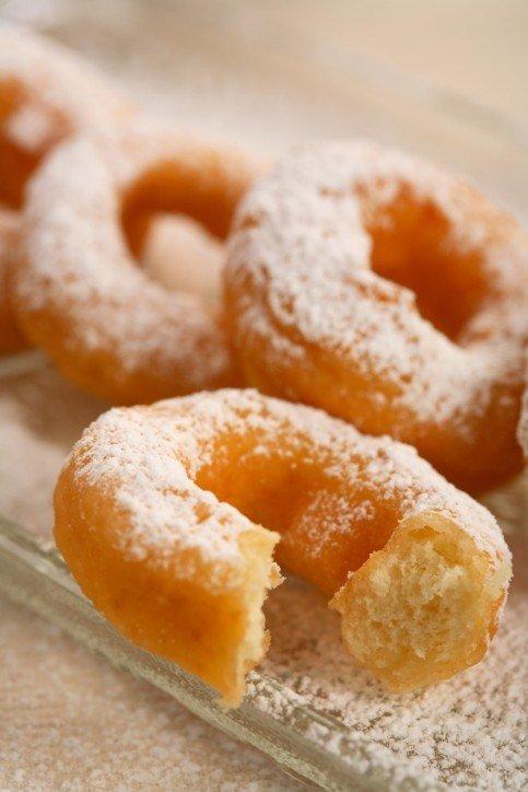 Итальянские пончики без яиц