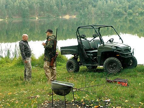 джип для рыбалки видео