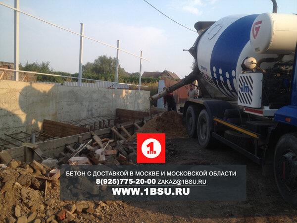 Доставка бетона на новосходненское шоссе