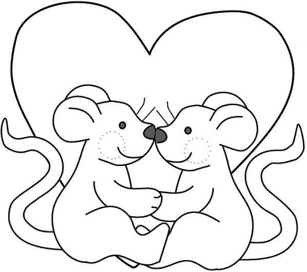 шаблон мишки для открытки ко дню святого валентина считается местом, которое