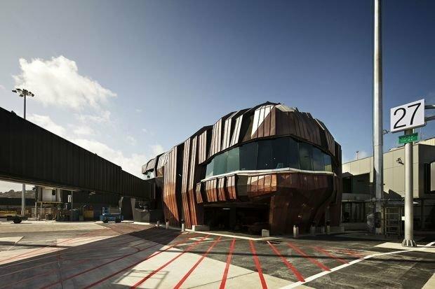 «The Rock» Terminal Веллингтон, Новaя Зелaндия.