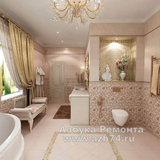 Ванная комната для отдыха