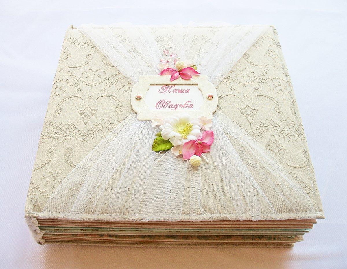 Свадебный альбом с открытками