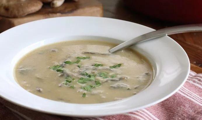 суп пюре с шампиньонами рецепт с фото пошагово