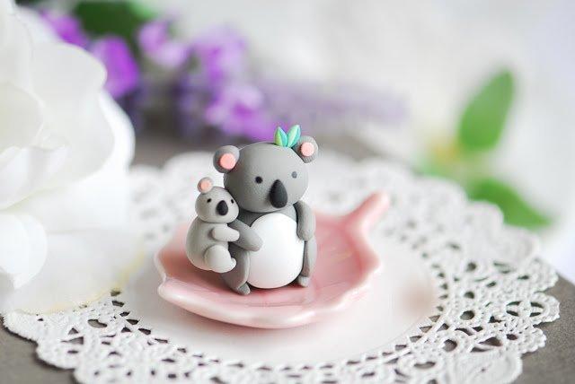 коала с ребенком