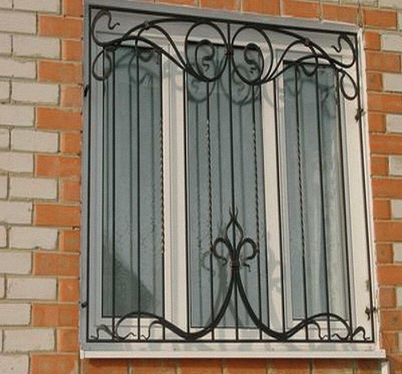 Кованные решетки на окна, эксклюзив в ростове-на-дону / купи.