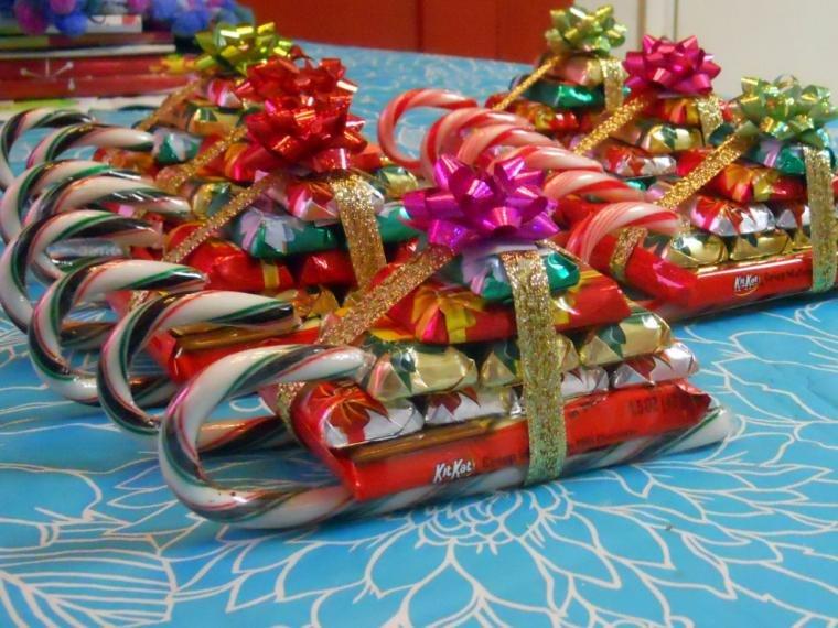Детские сладкие подарки фото