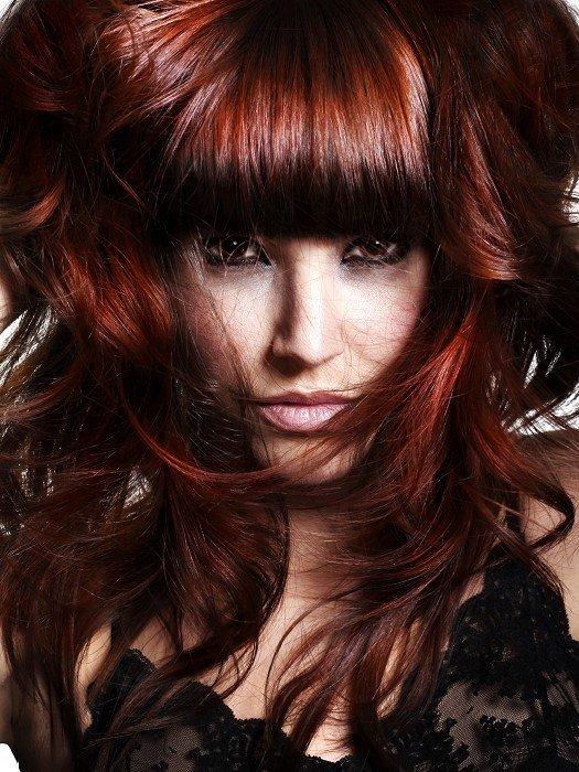 Это какой цвет волос рыжий