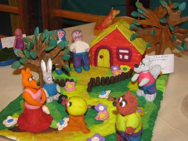 Колобок поделка своими руками в детский сад из 368