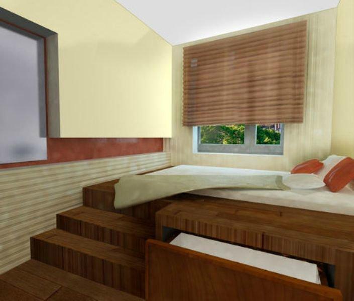 """Подиум в спальне фото. """" - карточка пользователя listopad.ir."""