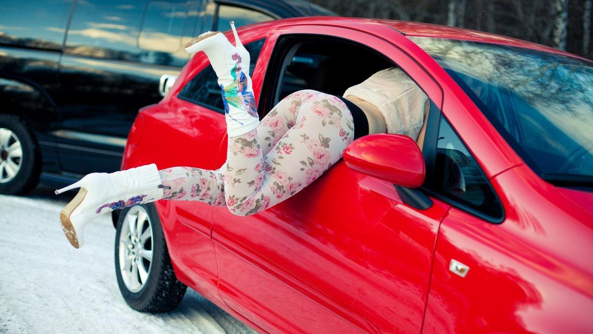 Старым, авто приколы с девушками картинки