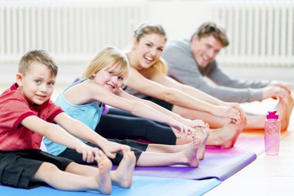 Картинки фитнес семья