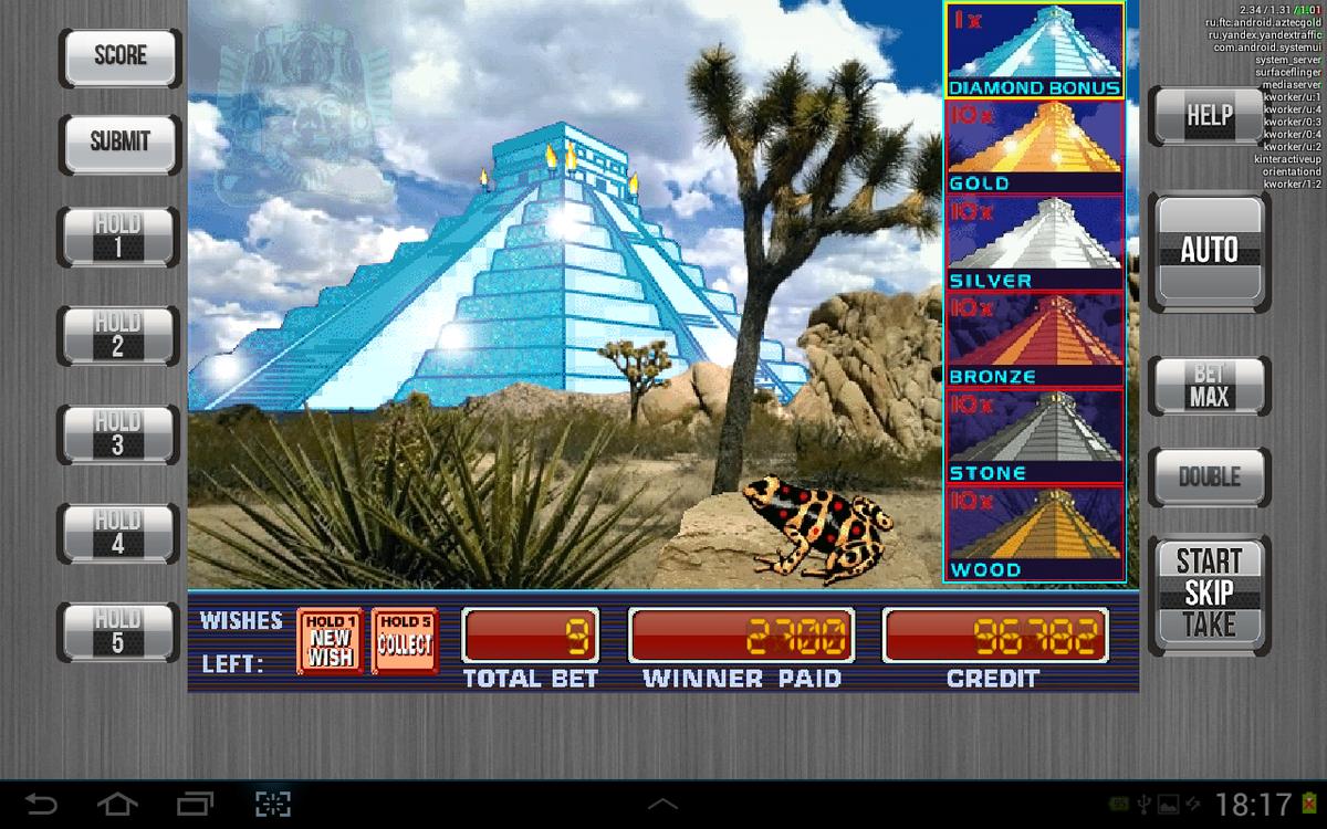 aztec gold играть