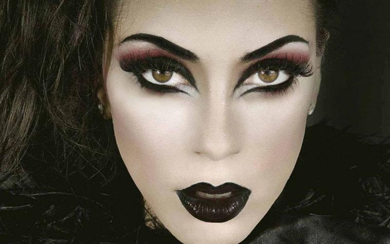макияж ведьмы на хэллоуин фото