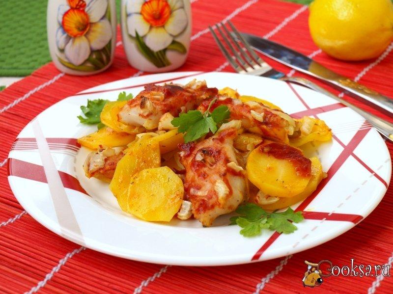 Рецепты пангасиуса с картофелем