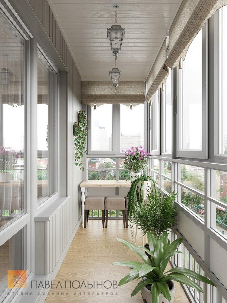 """Лоджия в проекте """"интерьер квартиры в классическом стиле, жк."""