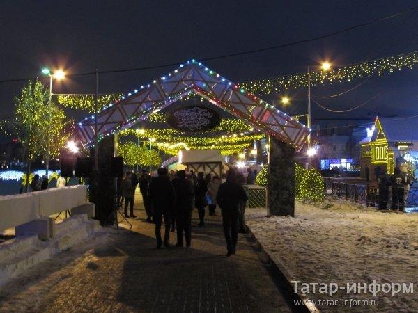 Новогодняя ярмарка в Старо-Татарской слободе