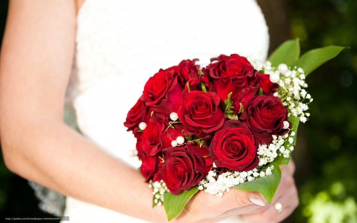 Картинки розы букеты свадебные