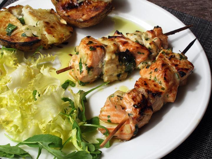 Особенно славятся своими рыбными шашлыками индия, иран, азербайджан.