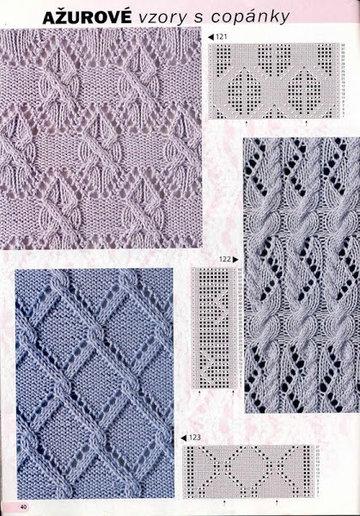 Схема узоров вязания аранов фото 898